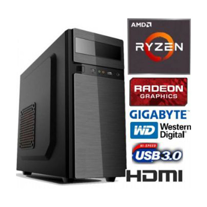 PC - AMD RYZEN 3 3200 - Video Radeon RX Vega 8